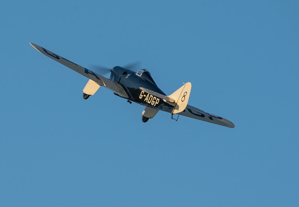 Family Airshow 2018, Old Warden, Practice display, Shuttleworth - 05/08/2018:18:57