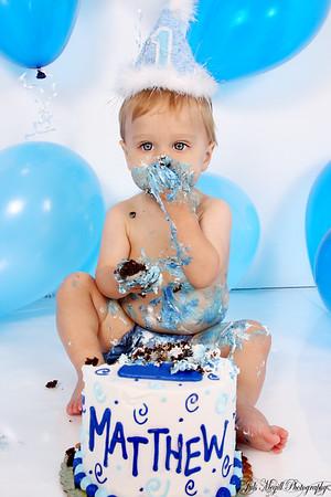 1st B-day Cake Smash