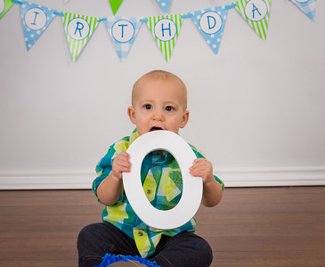 Logan 1st Birthday