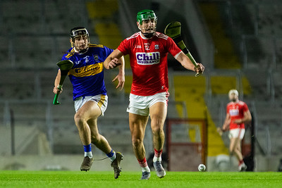 Cork's Aidan Walsh and Tipperary's Alan Flynn