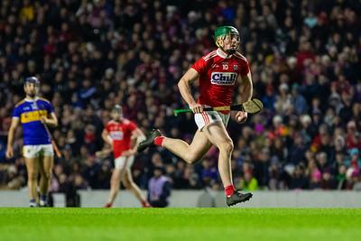 Cork's Robbie O' Flynn races through the Tipperary defense