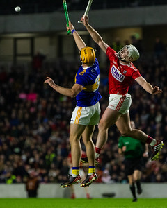 Cork's Patrick Horgan and Tipperary's Ronan Maher
