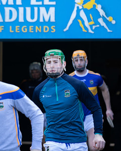 Brian McGrath takes to the field for his Allianz National Hurling League debut for Tipperary