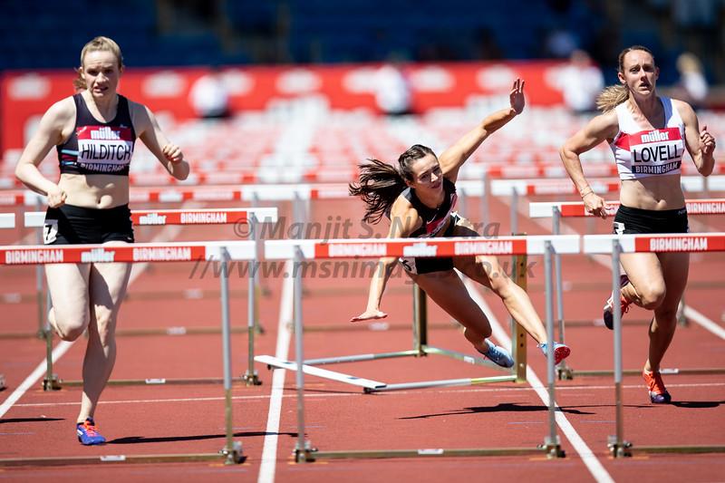 British Athletics Championships 2018, Day 1
