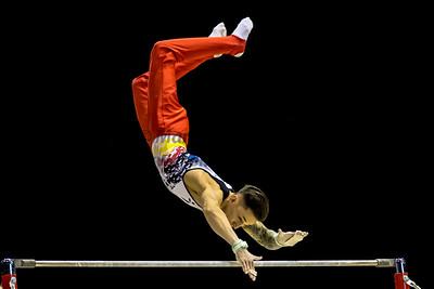 Mens' World Cup Gymnastics, Birmingham Arena, 21st Mar 2018