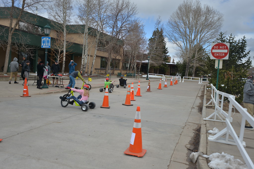 . The big wheel races turned out to be a big kid favorite at the first Bigfoot days.