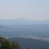 Sky line drive interstate 64 near Charlottesville