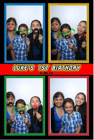 Luke's 1st Birthday (Luxe Photo Booth)