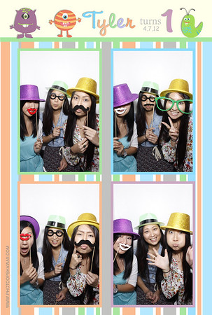 Tyler's 1st Birthday (Luxe Photo Booth)