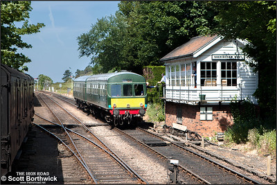 The token is exchanged as 56352/51192 pass Sheringham West SB whilst forming 2C03 1033 Holt-Sheringham on 11/06/2015.
