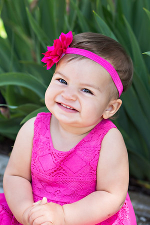 Lila {one year old session}