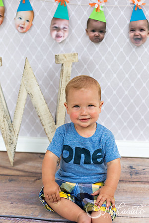 Wyatt {1 year old session}