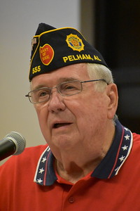 Commander Tom McDaniel