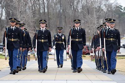 2-14-18 U.S. Army Drill Team Performance