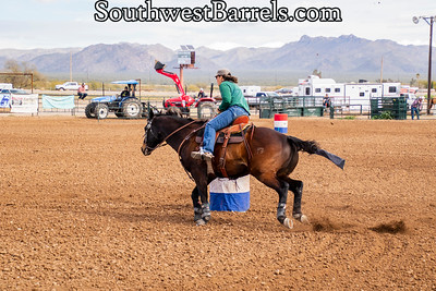 2-2-2019 CCOBRA Barrel Racing