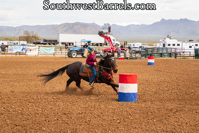 2-2-2019 CCOBRA Barrel Racing
