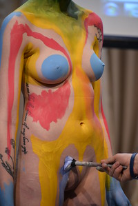 BODYPAINTING  AT  SOHO  DISTRICT  2015    -    Lower  Manhattan,  NYC
