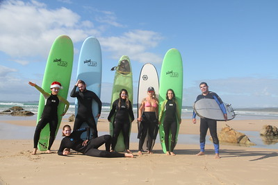 Christmas Surf Camp 2017 Group 2
