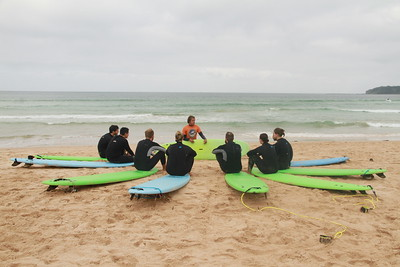 Weekend Surf Camp 30th - 2nd of April 2018 Group 2
