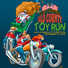 T-shirt for SLO County Toy Run 2001 Original artwork by WB Eckert 2001