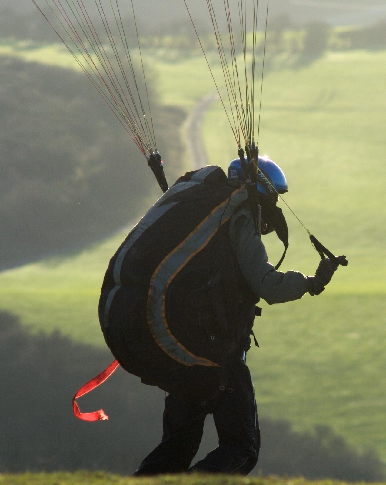 Learner Paaraglider Pilots Takes Off