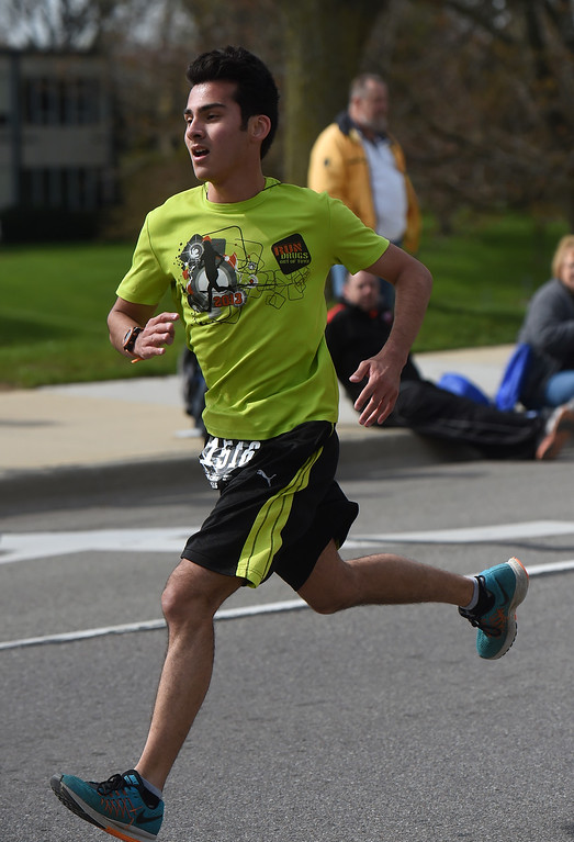. Let\'s Move Festival of Races in Mount Clemens on April 30, 2016. David Dalton - For The Macomb Daily