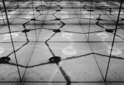 Web super-8 film loop projections, mirrors 1992