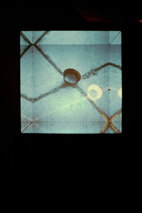 Web super-8 film loop projections, mirrors 1992