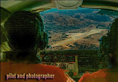 Flying into Catalina in my Beechcraft.