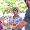 Ashleigh Fox | The Sheridan Press<br>Tris Munsick, a 20 Under 40 recipient for the 2019 class, entertains fellow 20 Under 40 recipients at Black Tooth Brewing Company Monday, June 17, 2019.