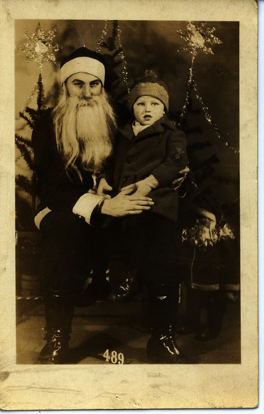 1929 Sonnie with Santa (Verify)
