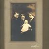 1926 - Fam Port 1 - George, Grandma Geske (Augusta), Geo Jr (Sonny), Emma Ewing (Grandma G) (Scan 2)