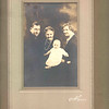 1926 - Fam Port 1 - George, Grandma Geske (Augusta), Geo Jr (Sonny), Emma Ewing (Grandma G)