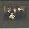 1926 - Fam Port 2 - Emma (Grandma G), Geo Jr (Sonny), Grandma Geske (Augusta), George (Scan2)