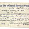 1944 - Geo W Ewing Mason Reg Card (1-Front)