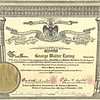 1945 - Geo W Ewing Master of Royal Secret Cert