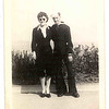 1944 (abt) George with Step Mom Davida (maybe Calif)
