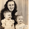1950-12 Deloris w Debbi & Roni at Christmas (Color 600DPI) 8x10