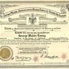 1957 - Geo W Ewing Knight Commander Cert