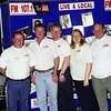 (l to r) Daryl Gibbs, Chris Jacobson, Ian Begg, Louise Poole, John Bowman