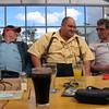 Neil Begley, Peter Rex, Fred Velthuis