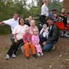 Rear L to R: Daniel, Coral. Centre: Liz, Libby, Lilyjana, Mick. Front: Harley, Madelyn