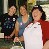 Nicole Stevens, Ashleigh Beaman and Bobbie Byron