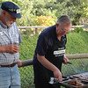 Graeme and John cooking up a storm
