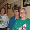 Beryl Thompson, Bev Haberecht and Lois Cabot