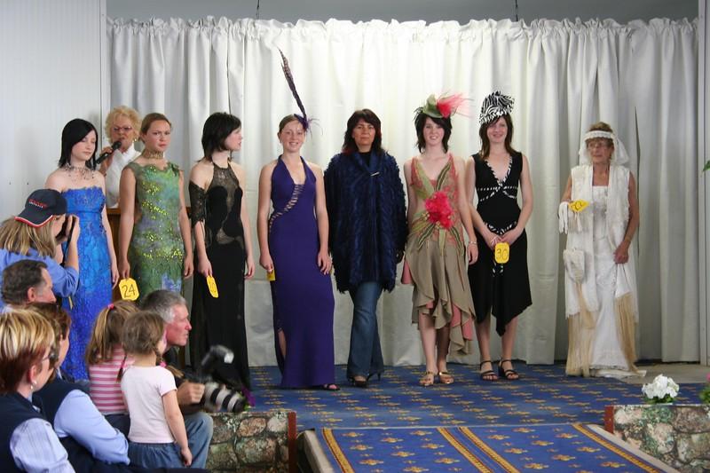 l to r: Kristi Maloney, Erika Hewitt, Elise Krueger, Tiffany Wishart, Petra Bowen, Anna McRorie, Katie Willis, Freda Cook