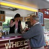 The multitasking Lynne makes great coffee, answers the phone and gives change. All at once!