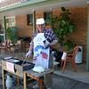 Chef John Bowman hard at work...
