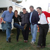 2AAA's Scott Chambers, Jenny Knowles, Louise and Geoff Jacobson and David Deuis