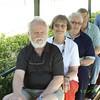 Rolf and MaryAnn enjoy a train ride